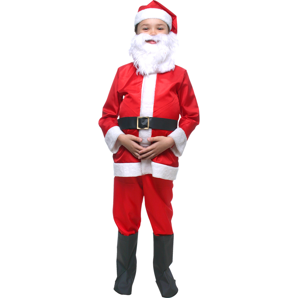 Fantasia Papai Noel Infantil aeba4e481f0