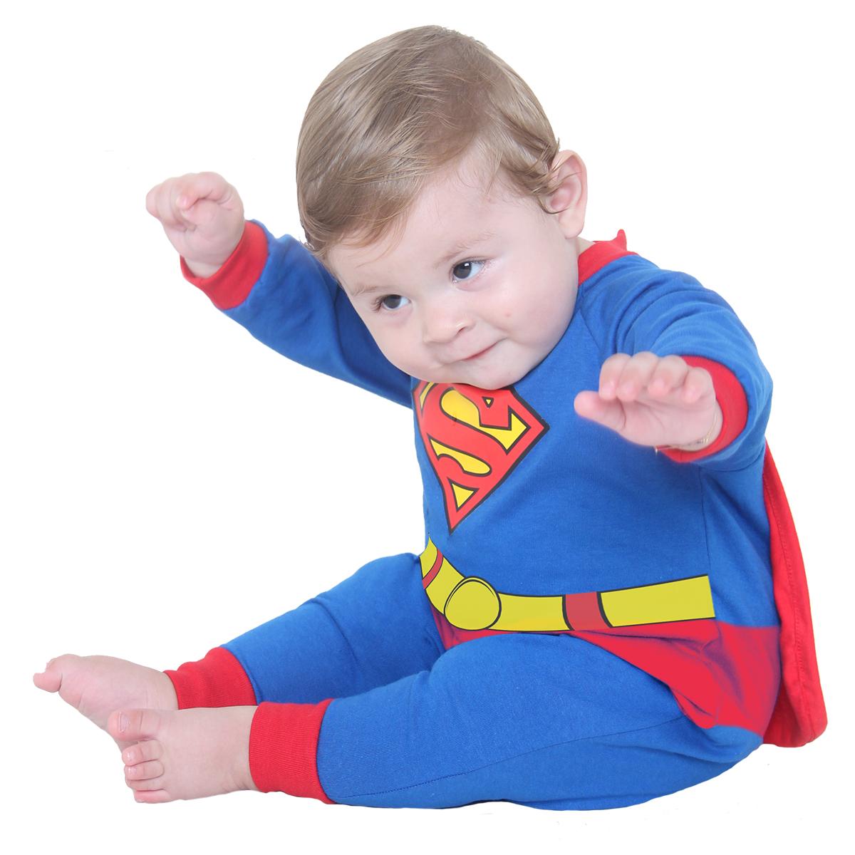 4490c9c86 Fantasia Macacão Super Homem
