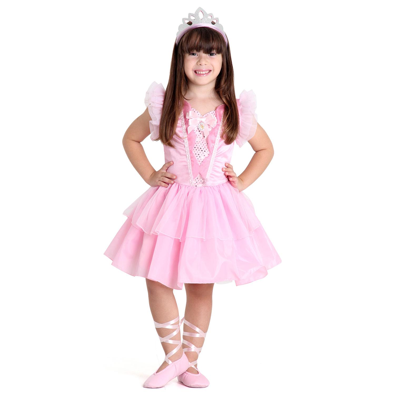 60112ccae9 Fantasia Barbie Q. Ser Bailarina Luxo
