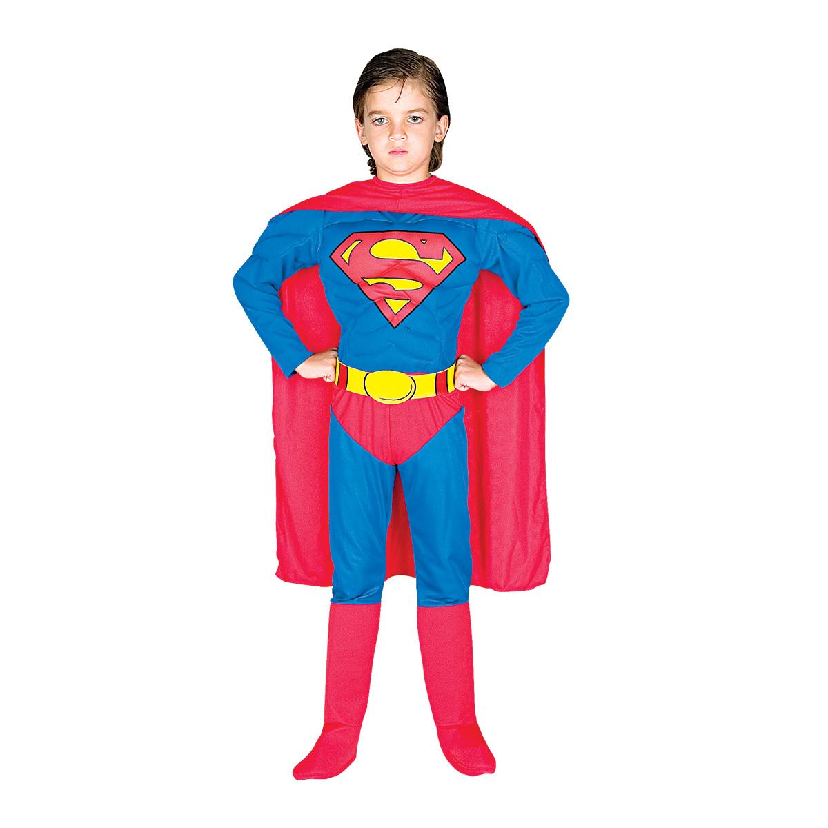Fantasia Super Homem Luxo cf4852d1b9b